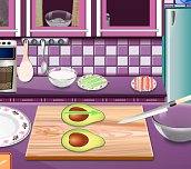 Free game - Sara´s Cooking Class California Rolls