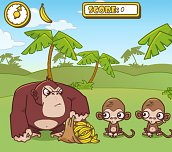 Free game - Monkeys and Bananas
