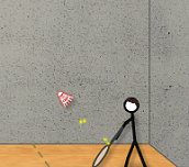 Free game - Stick figure badminton