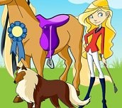 Free game - Horseland Dress Up