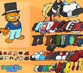 Free game - Garfield Dress Up