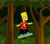 Free game - Bart Simpson Skateboarding