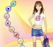 Free game - Fashionable teen
