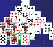 Free game - Pyramid Solitaire Deluxe