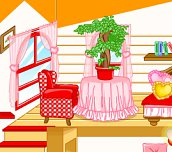 Free game - Red Dollhouse Makeover