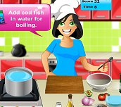Free game - Cooking Passion Dinner Party